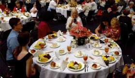 Banquete en el Hot Springs Convention Center.
