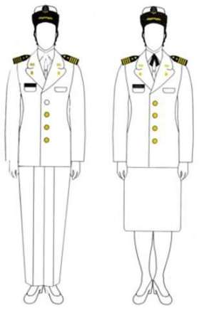 Uniforme mujer D-4.