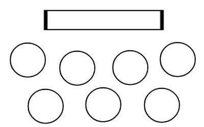 Protocolo   Etiqueta  F  Tema V  Tipos De Mesas Y Su Colocaci  N