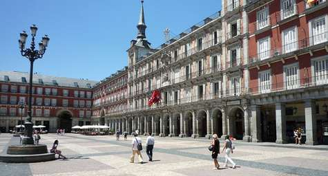 Plaza Mayor.