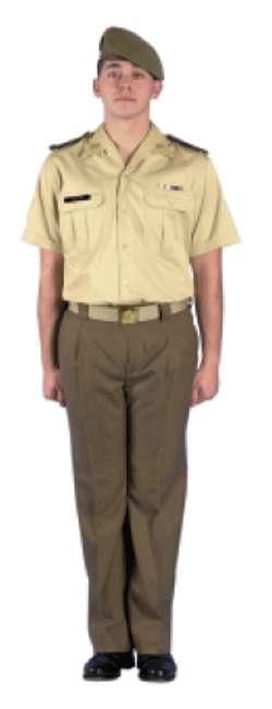 uniforme de diario verano tropa