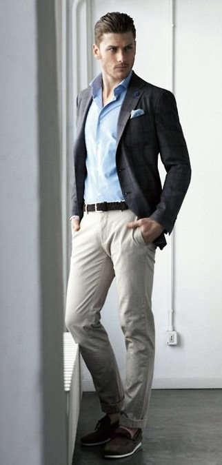 El estilo \u0026quot;business casual\u0026quot; para hombres.