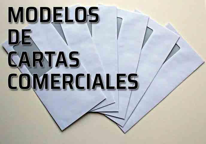 modelos de cartas comerciales