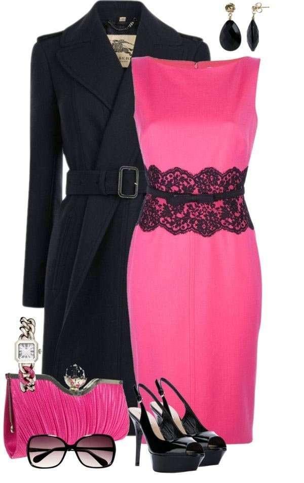 Combinar una prenda de color rosa - Colores que combinan con rosa ...