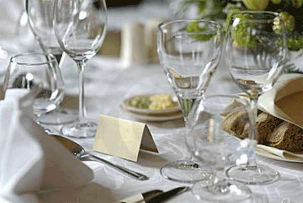 Tarjeta de mesa - Cena para invitados facil ...