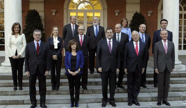 Precedencia de los miembros del gobierno de espa a for Ministros de espana