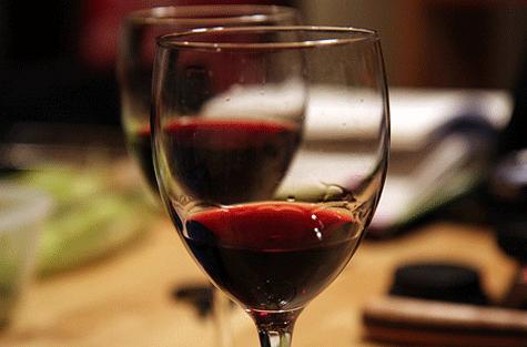 El arte de conocer el vino protocolo etiqueta for Copa vino tinto