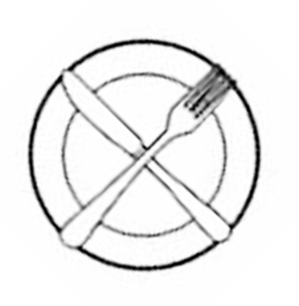 El lenguaje de los cubiertos protocolo etiqueta for Tenedor y cuchillo en la mesa