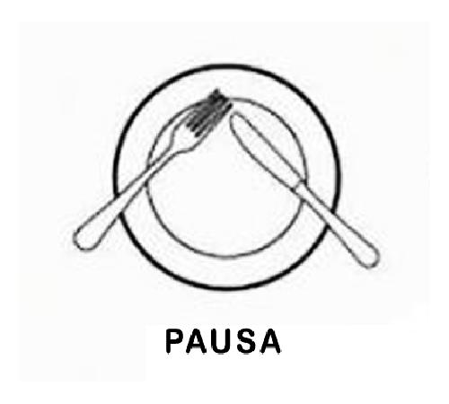 El lenguaje de los cubiertos for Plato tenedor y cuchillo