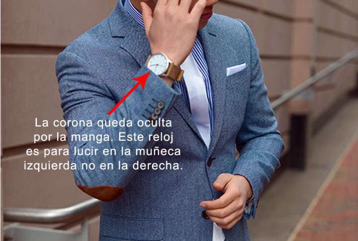 Como saber si un reloj es para hombre o mujer