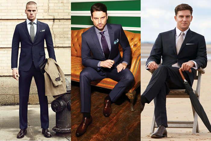 Fashion Beans Men Suit And Soe Combo