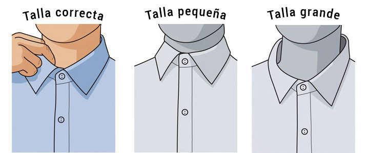 e3eb780153d96 Elegir correctamente la talla de una camisa de vestir