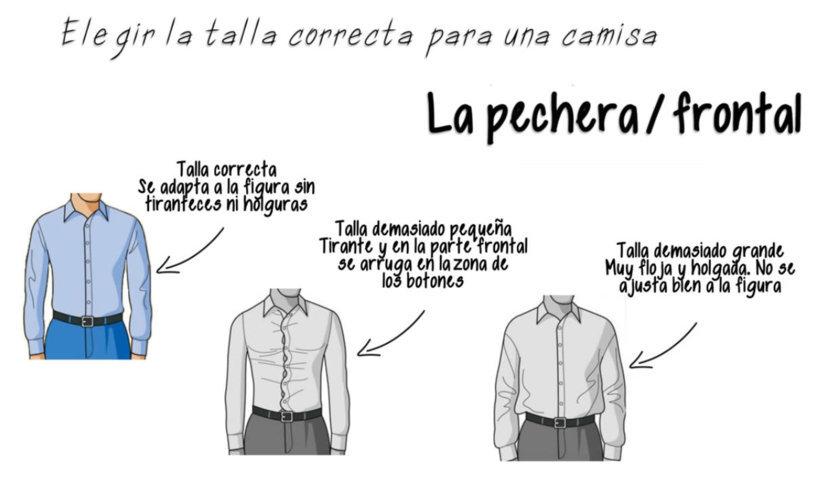 4179ca74a65b8 Cómo elegir la talla correcta para una camisa de vestir...