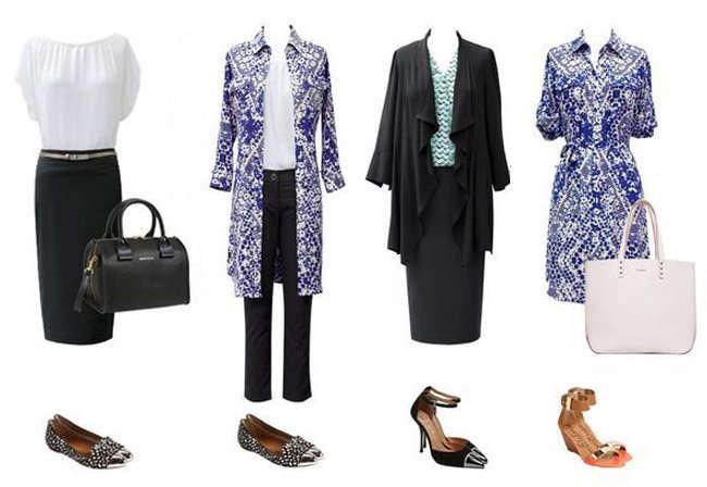 Vestimenta casual formal para mujeres