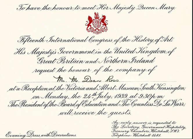 Tarjeta De Invitación Correspondencia Protocolar