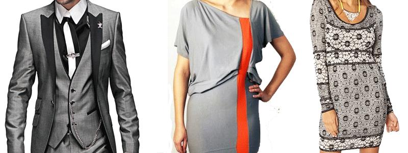 Combinar colores c mo conjuntar las prendas y sus colores for Colores que combinan con gris claro