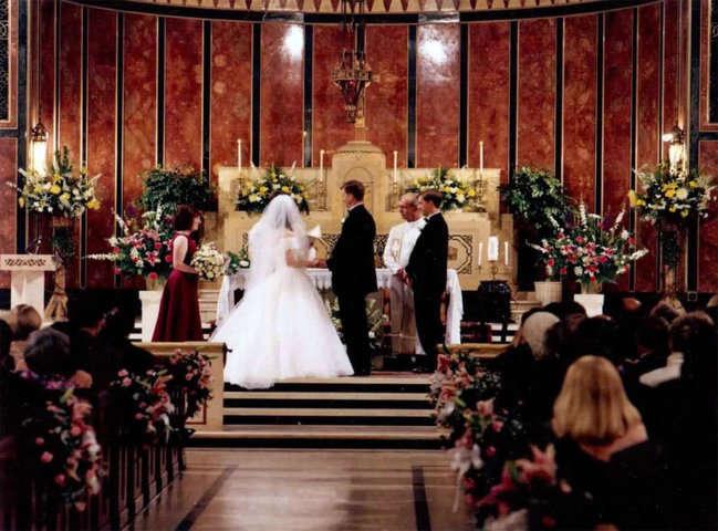 Matrimonio Civil O Religioso Biblia : La ceremonia religiosa matrimonio religioso cortejo