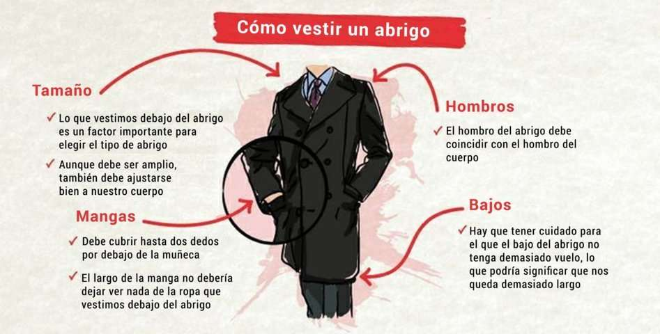 aa3095a3a0 Cómo vestir un abrigo Consejos para elegir un buen abrigo