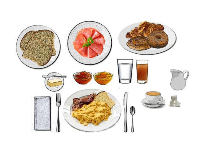 Desayuno Americano Continental