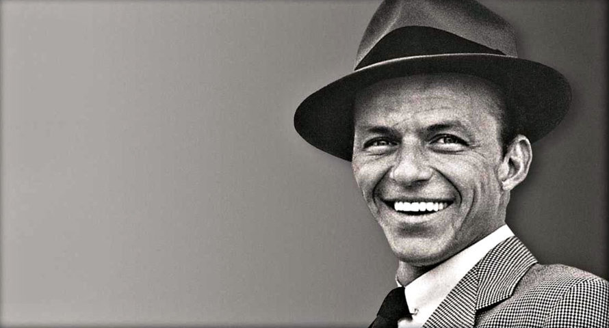 Historia del sombrero - Frank Sinatra con sombrero 254f395041d