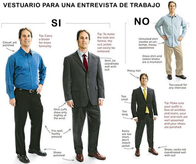Vestir para una entrevista de trabajo qu ropa nos ponemos - Difference between office professional and professional plus ...