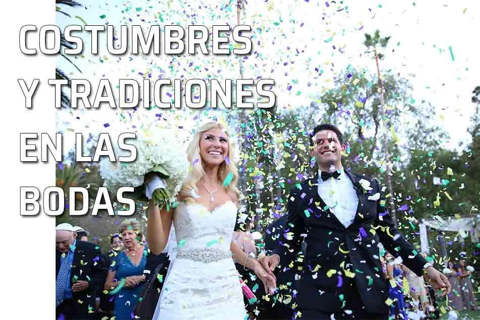 Tradiciones, costumbres y supersticiones relativas a las bodas