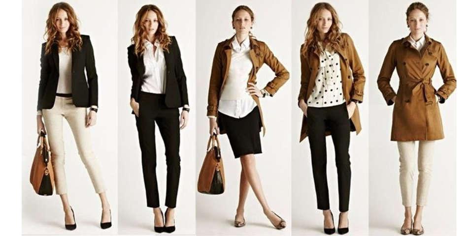 8ba5cb4fd Vestuario ideal para una mujer de hoy Tipos de vestuario