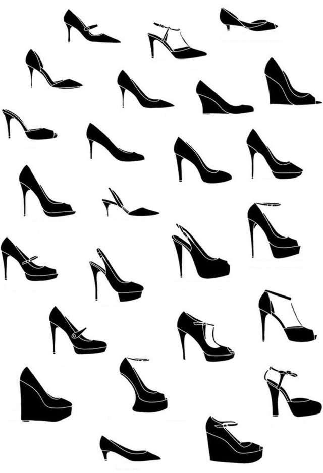 76637baf8f753 El zapato femenino ¿Con tacón o sin tacón