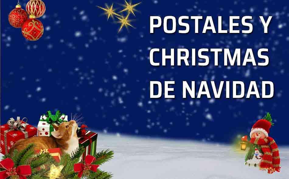 Felicitaciones De Navidad En Castellano.Postales De Navidad Los Christmas Escribir De Forma