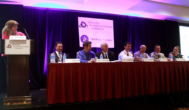 Mesa presidencial. Air Quality Conference Panel, Arizona.