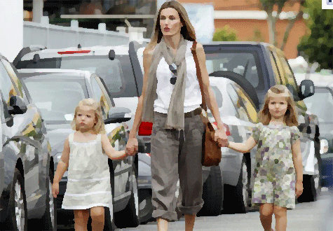Do�a Letizia, la nueva super nanny.