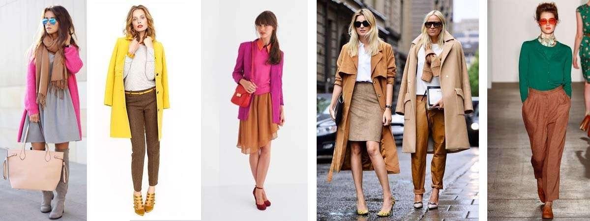 Combinar una prenda de color marr n - Colores que contrastan con el gris ...