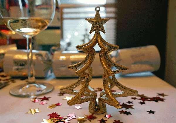 La mesa de navidad for Mesas de navidad decoradas sencillas