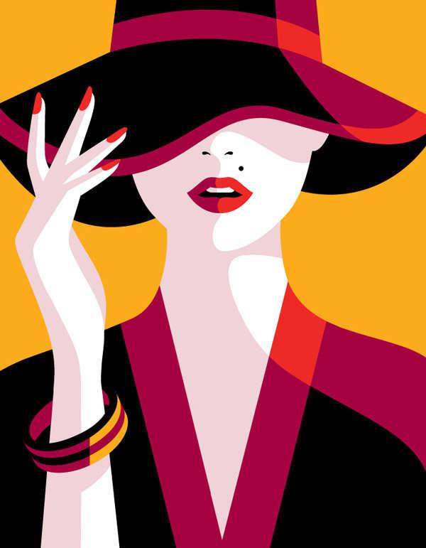 El sombrero de mujer y sus reglas b3ae02393fe