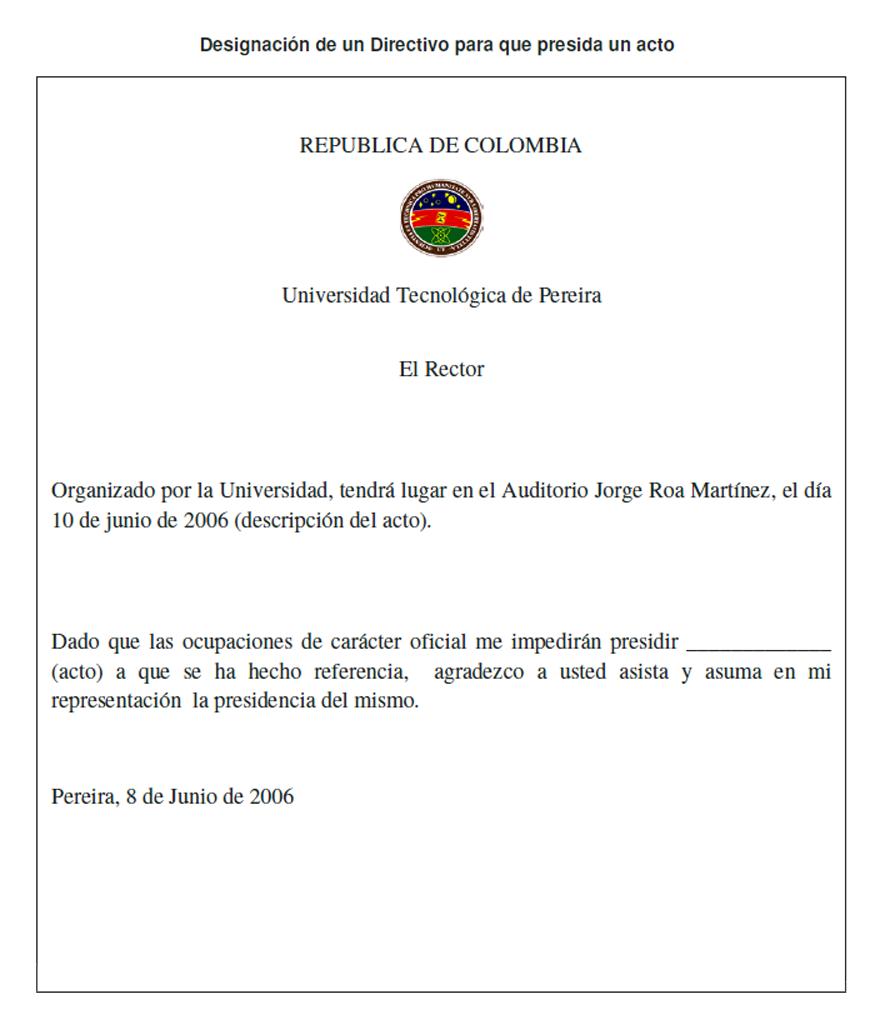 Ejemplos Carta De Invitacion