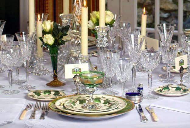 La mesa de navidad y el orden de los cubiertos for Orden de los cubiertos en la mesa