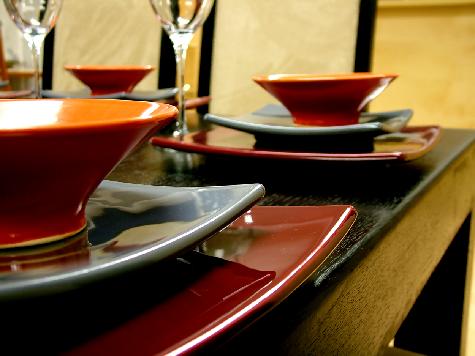La vajilla colocaci n en la mesa piezas de la vajilla - Vajilla de diario ...