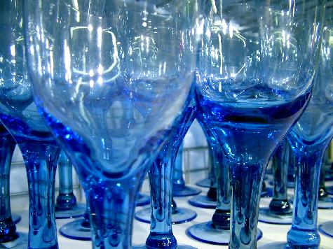 La cristaler a piezas colocaci n en la mesa for Cristaleria copas