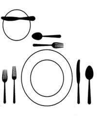 Poner la mesa. El anfitrión y la mesa. Armonía y buen gusto. 66807a2dbce6