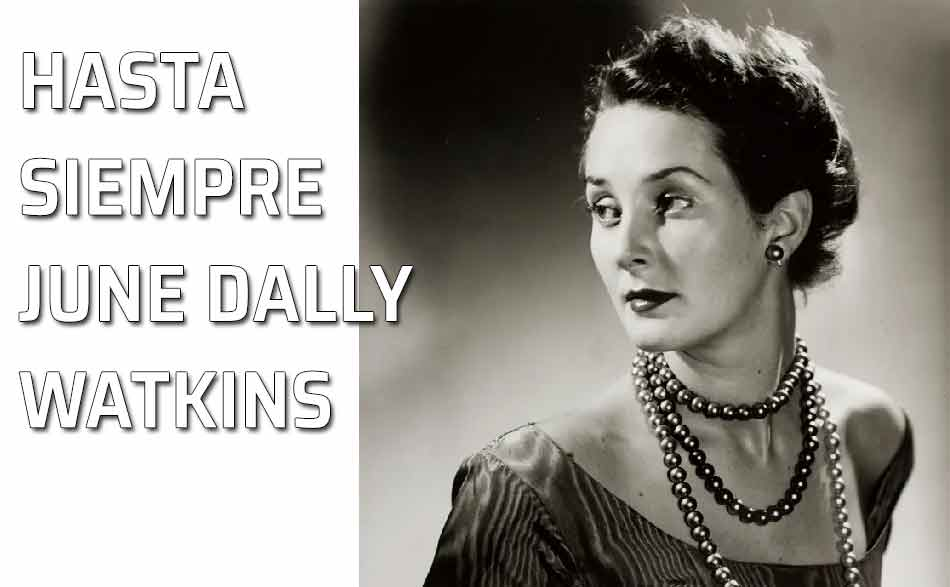 La reina de la etiqueta June Dally Watkins