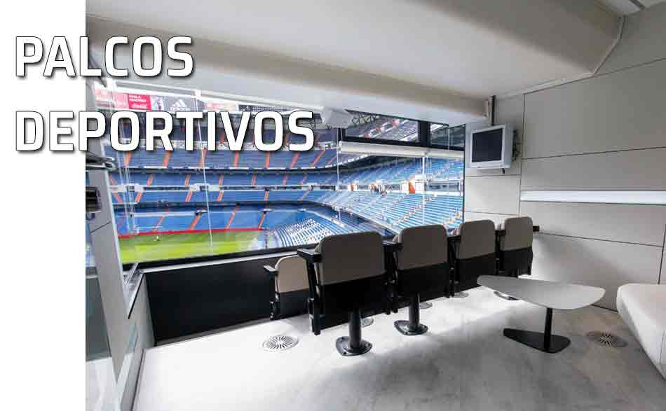 Palco VIP estadio Bernabéu Real Madrid