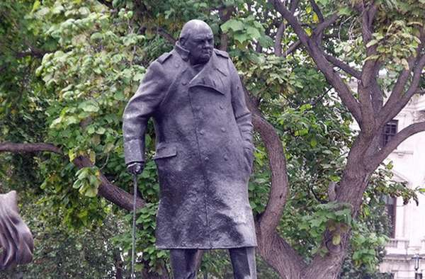 Estatua de Winston Churchill
