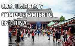 Personas. China: costumbres y comportamiento en general