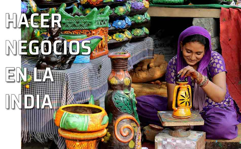 Mercado India. Reglas de etiqueta para negociar en la India