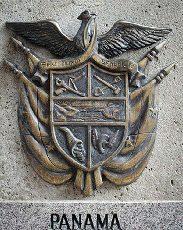 Escudo relieve Panamá.
