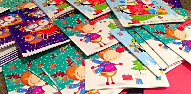 Tarjetas de navidad para amigos