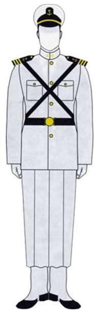 Uniforme Guardiamarinas B-1.