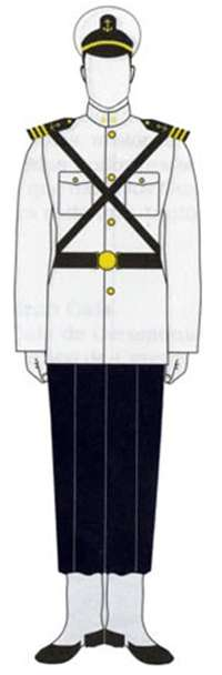 Uniforme Guardiamarinas B.