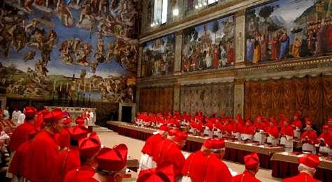 Resultado de imagen de conclave vaticano